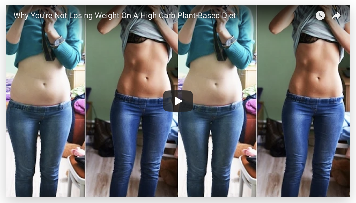 Weight Gain On A Plant-Based Diet? Watch This Video!