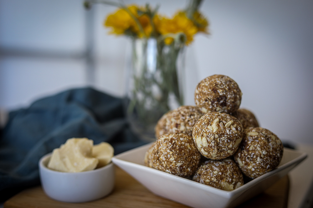 White Chocolate Bliss Balls